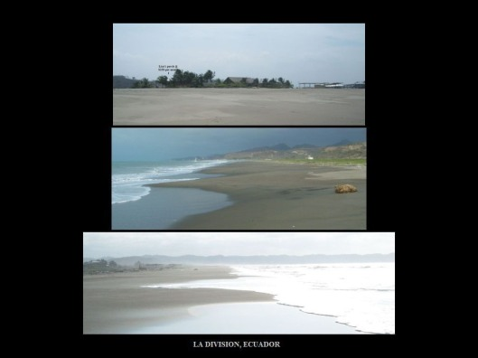 La Division 7 years ago with twice the beach compared to 2014.