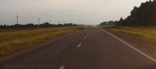 Highway 61 near Clarksdale Misssissippi