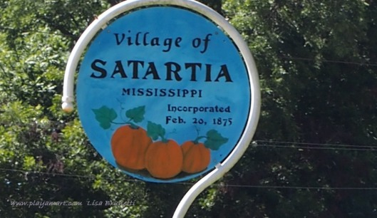 Satartia, an Indian word for pumpkin patch, anchors a southern point of the Mississippi Delta along the Yazoo River.