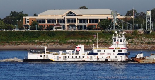 Towboat and Medical Clinic (The clinic has an amazing view!)