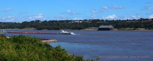 View of Natchez from Vidalia