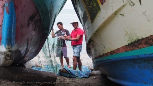 As always, the fishermen acknowledged my presence while preparing for the next outing.