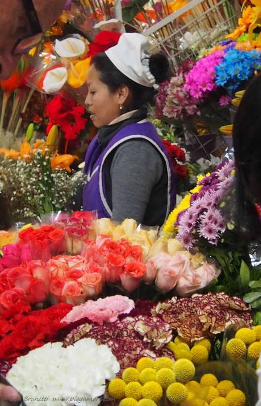 Quito Flower Market