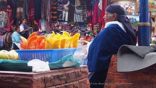 The Otavalo Market awakens the senses!