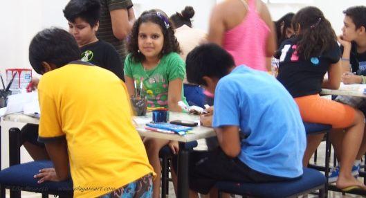 Art class Museo Bahia de Caraquez