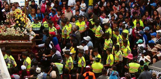 Good Friday in Quito Ecuador