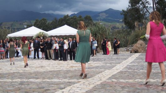 A wedding at the middle of the world!