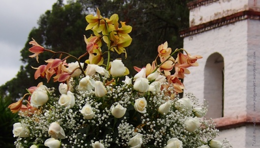 The Reception:  Hacienda Guachala (Near Cayambe)