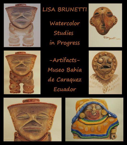BAHIA DE CARAQUEZ watercolors THUMBNAIL 01