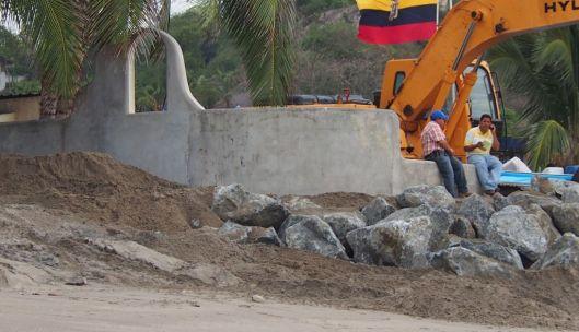 Coco Beach Entrance - Rocks June 25, 2015
