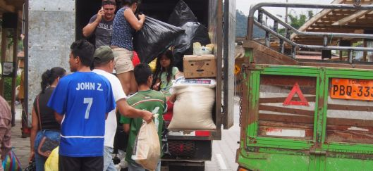 Relief Donations - from Mindo to the Earthquake Victims...