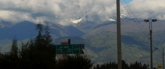 We're getting closer to Riobamba!