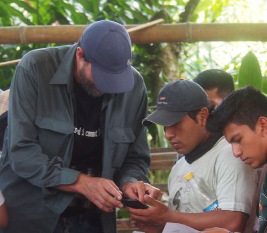 Rudy showed birders how to easily access Ebird via phone ap.