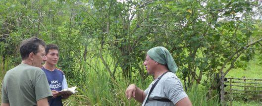 P2880853 birding apprentice near bamboo corral