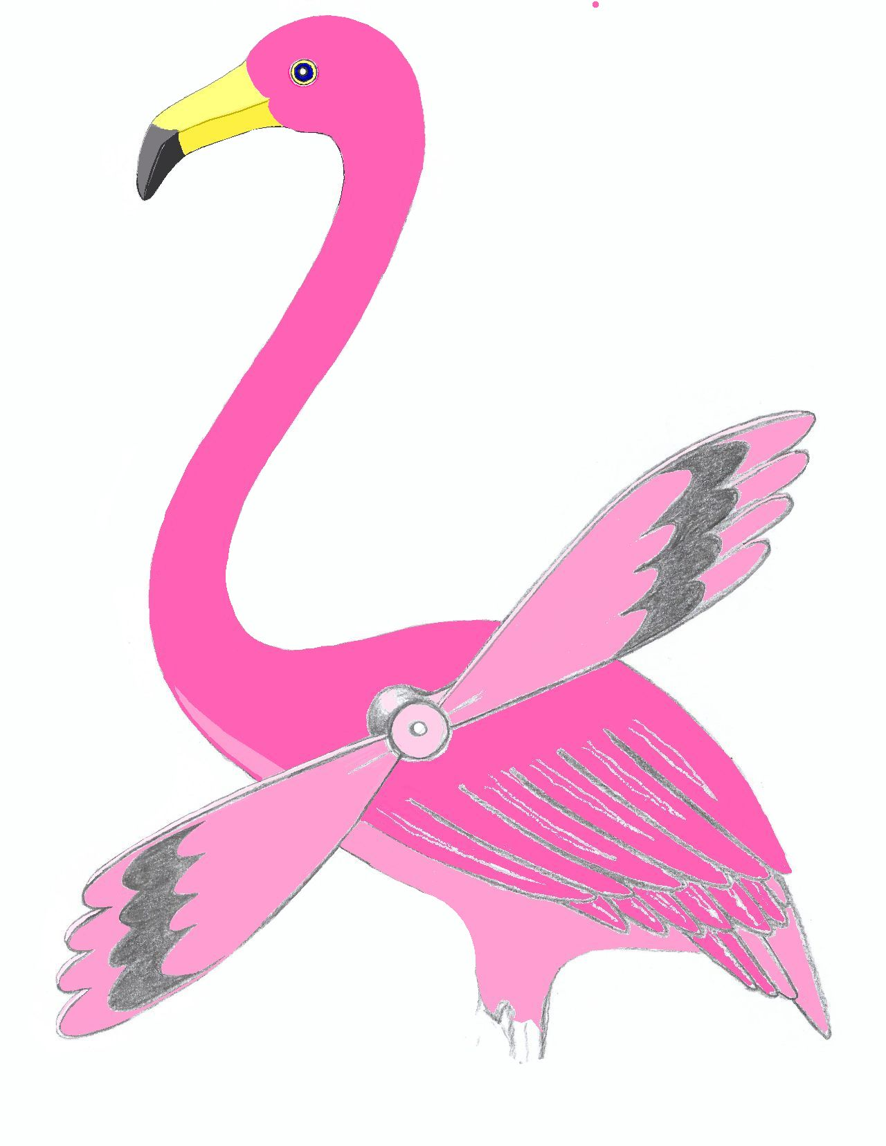 08a FOR POST DAB DAY FLAMINGO W COLORS